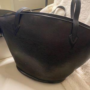 Louis Vuitton Epi Saint Jacques GM Black